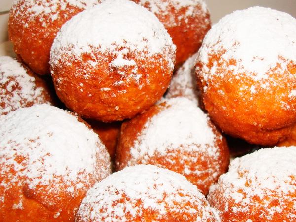 Отличные вкусные творожные пончики