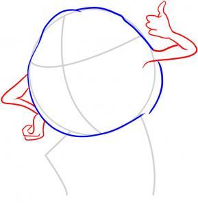 Как нарисовать Майка Вазовски карандашом поэтапно