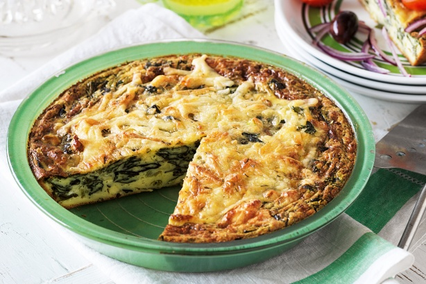 Пирог с рикоттой и шпинатом