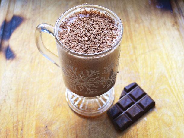 Шоколадный Эгг-ног