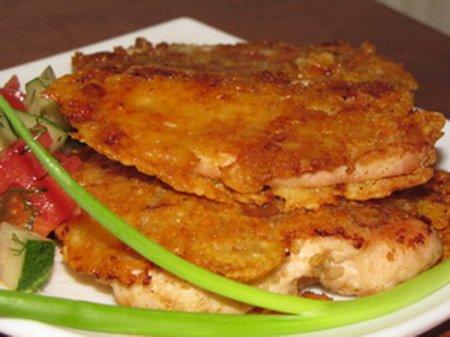 Сырная курица