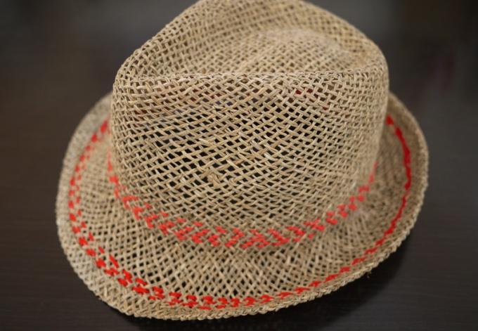 Как сделать соломенную шляпу