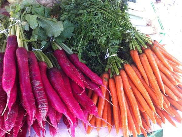 Как зимой хранить морковь и редьку