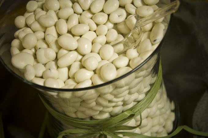 Рецепт салата с белой консервированной фасолью