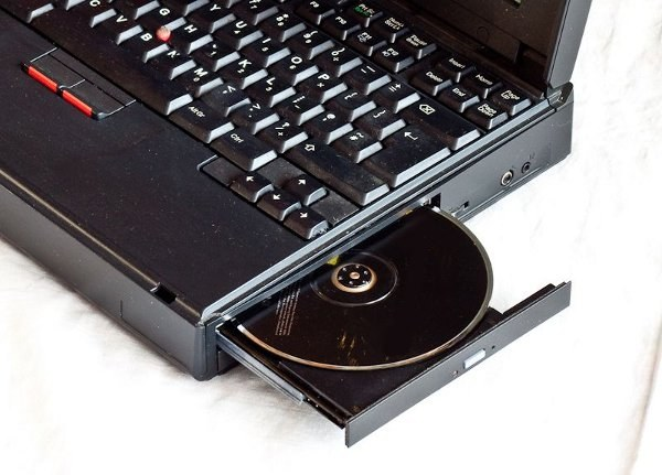 What to do if the laptop does not see the drive