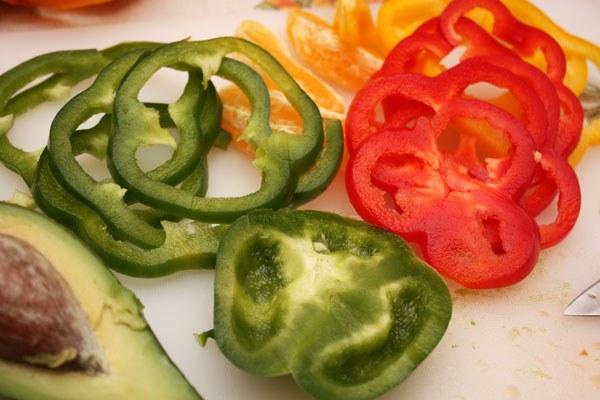 Рецепт салата с болгарским перцем