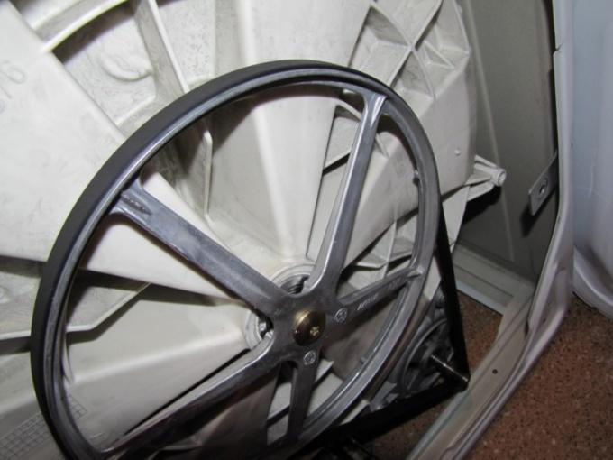 Ремень барабана в стиральной машинке