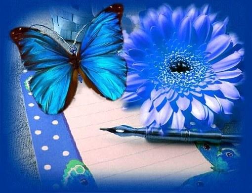 С какими цветами сочетается синий