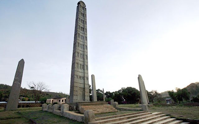 Аксумский обелиск в Эфиопии