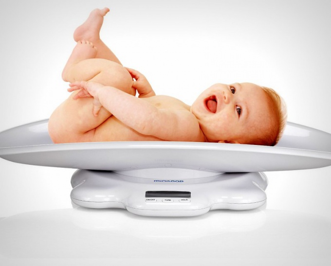 The weight of the child is one of the most important characteristics of its development