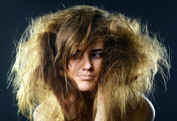 Рецепт маски для сухих и поврежденных волос