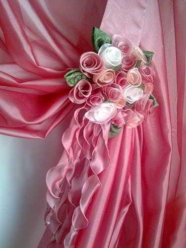 Как сделать розы к шторам - Новости, обзоры, ремонт