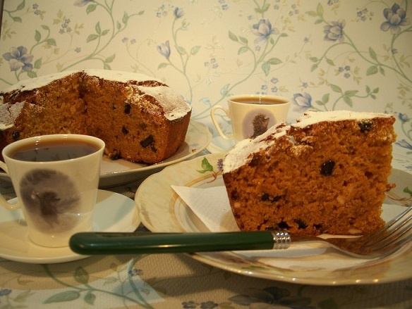 Как приготовить постный медово-карамельный кекс