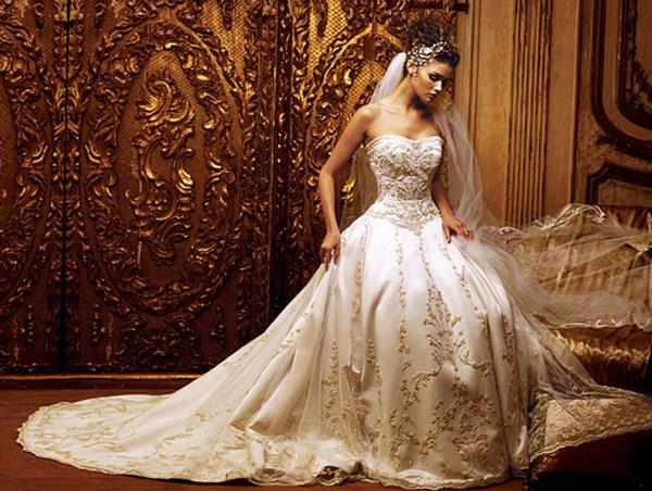 Как выбирать свадебное платье по цвету