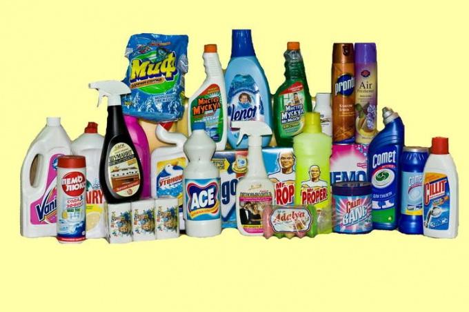 Мифы о продуктах бытовой химии