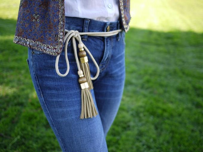 Пояс для джинсов своими руками 35