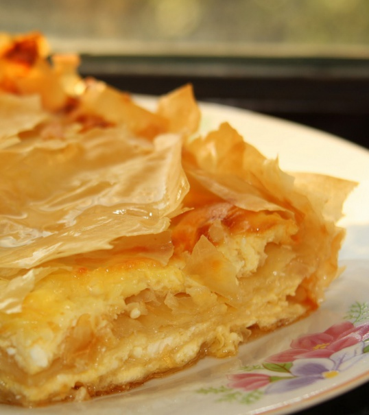 Рецепты пирогов с тестом фило
