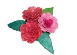 Как слепить из пластилина прекрасную розу