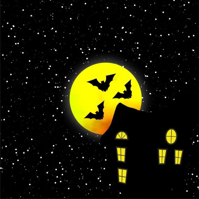 Придумайте, как украсить зал к Хэллоуину