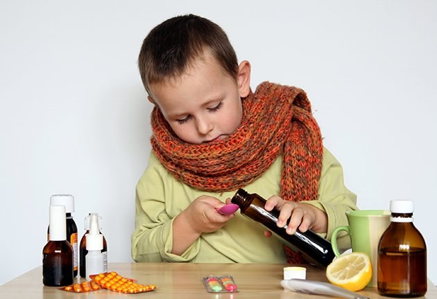 How to soothe a dry cough in a child