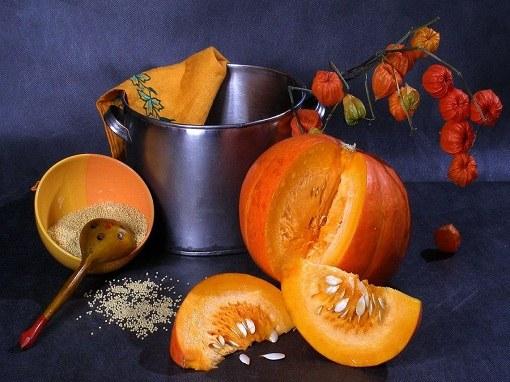Мякоть, семечки и сок тыквы полезны при сахарном диабете