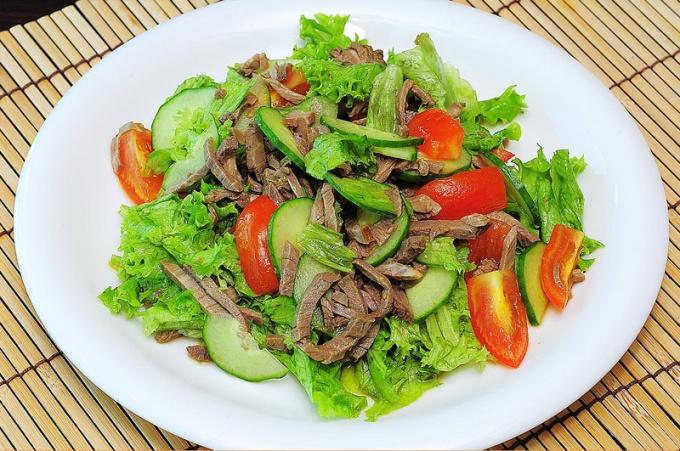 Салаты тайский рецепты с