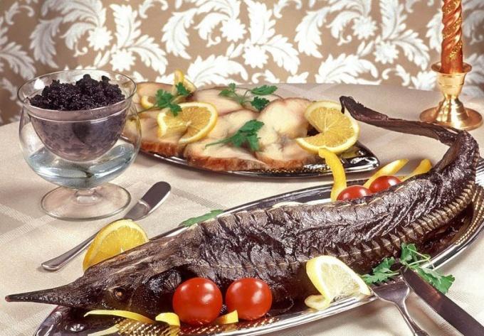 Рецепт рыбы по-царски