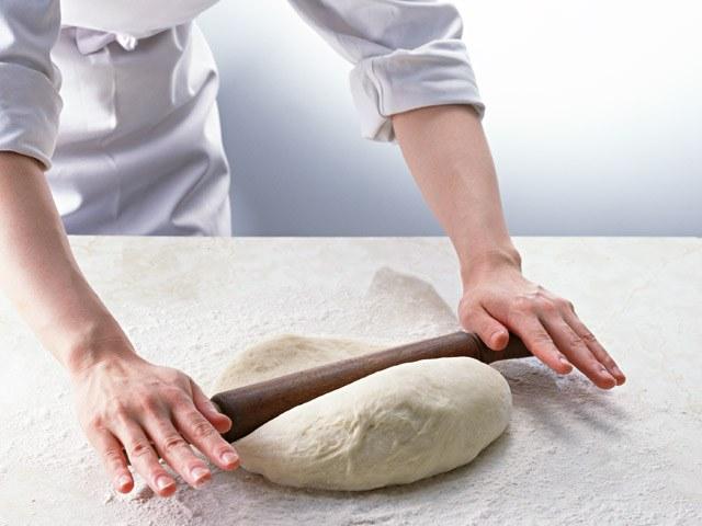 Рецепт теста на кефире для пирога с мясом