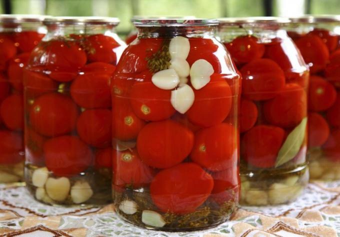 Marinade recipe for tomato