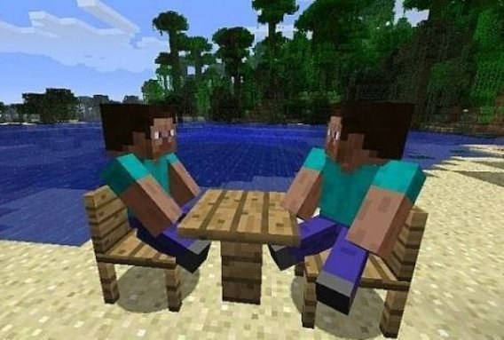 To play with friends in Minecraft online is a great idea