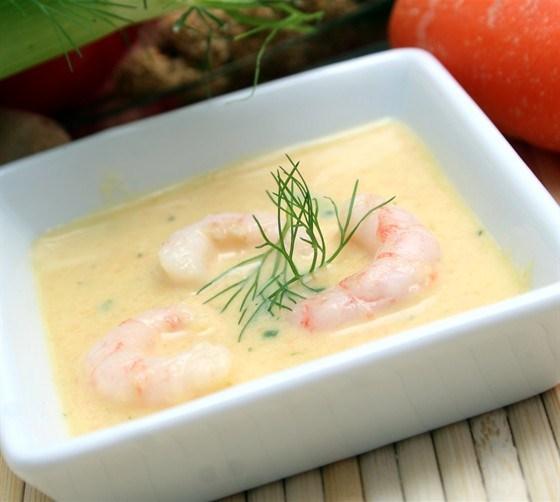 Классический крабовый крем-суп