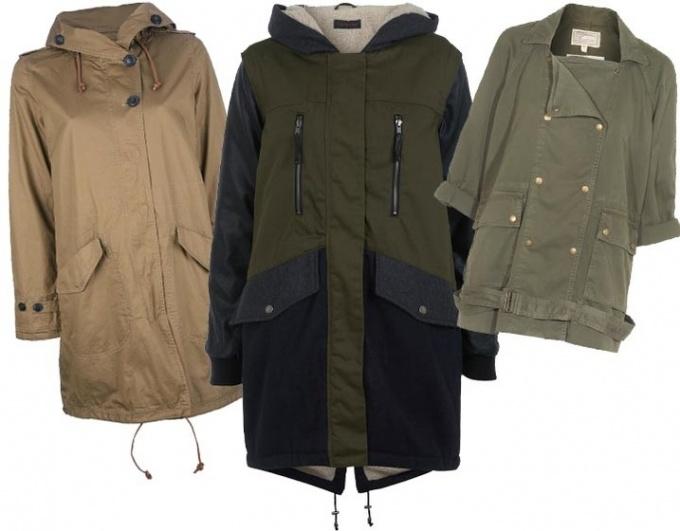 С чем носить удлиненную куртку