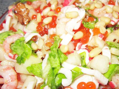 Приготовить вкусный салат