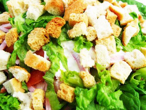 Приготовить салат Цезарь