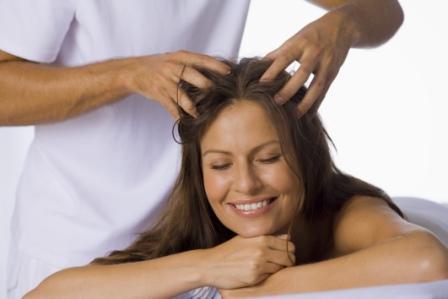 Массаж для ускорения роста волос