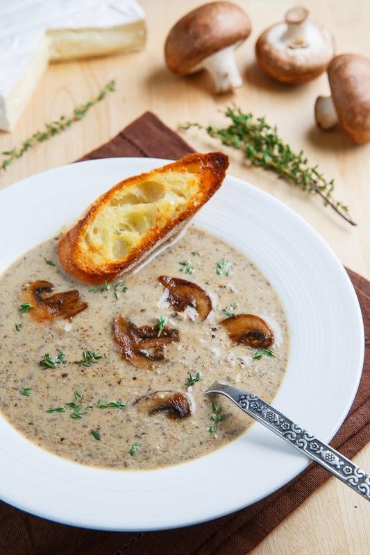 Как приготовить ароматный суп-пюре с шампиньонами