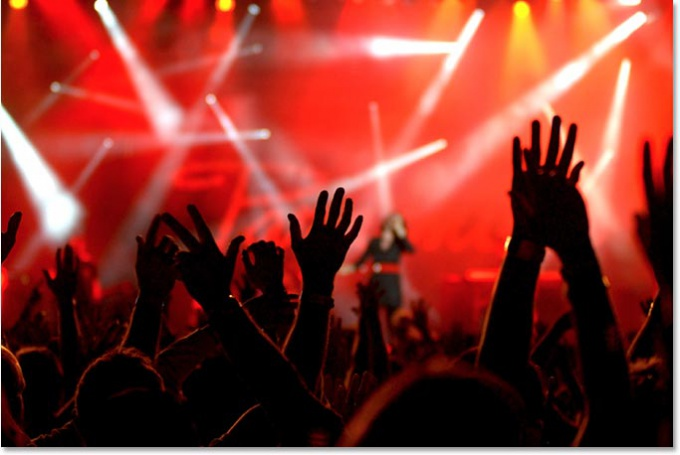 Как организовать концерт своей рок-группы