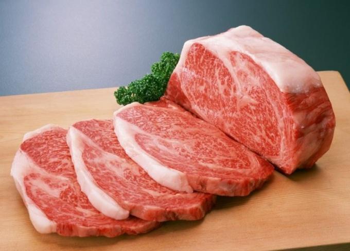 Сколько калорий в мясе