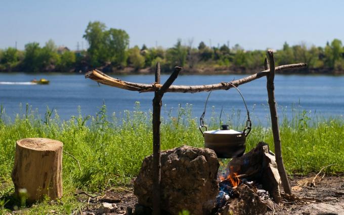 Как готовить в походе