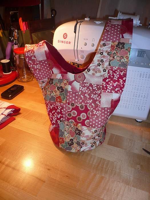 Японская сумка своими руками фото
