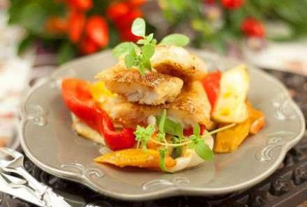 Как приготовить филе трески с овощами в конверте