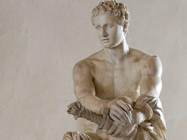 Статуя греческого бога Ареса