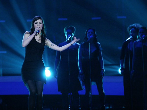 Лена Майер-Ландрут на конкурсе Евровидение