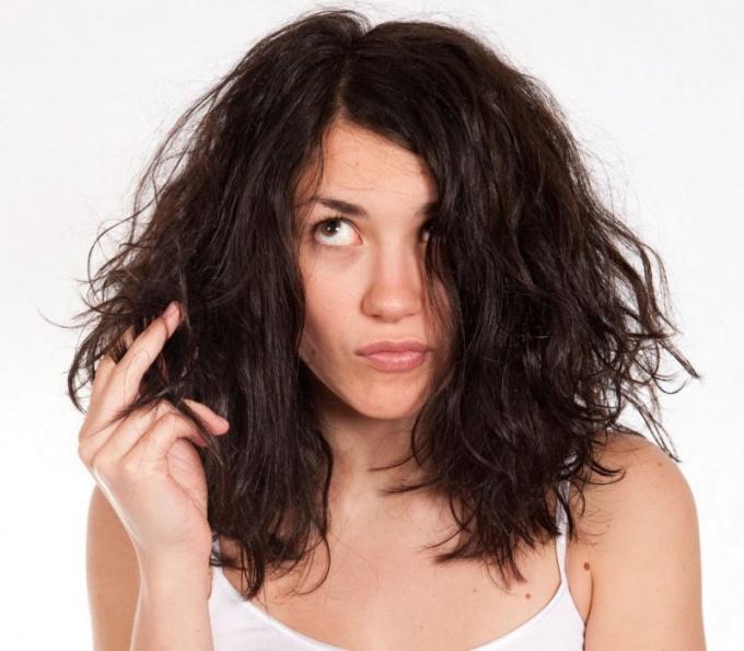 Как сделать маску для сухих волос
