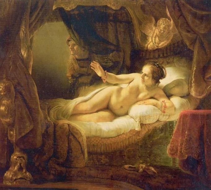 Признанный мировой шедевр Рембрандт – картина «Даная» - в 1985 году подверглась акту вандализма