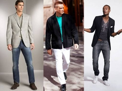 Чем блейзер отличается от пиджака