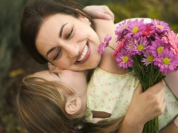 Как благодарить маму