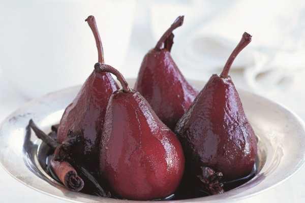 Как приготовить грушу в вине