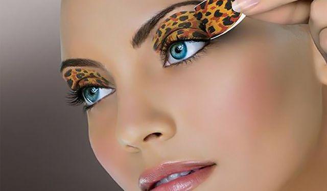 Как сделать леопардовый макияж для глаз
