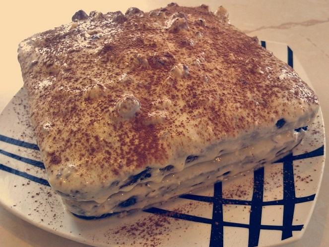 Торт с фундуком